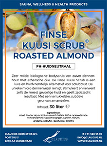 Finse Kuusi Scrub Roasted Almond
